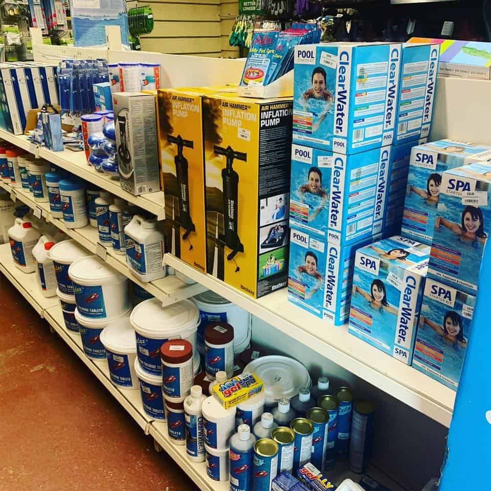 Spa & Pool Chemicals at Bumbles