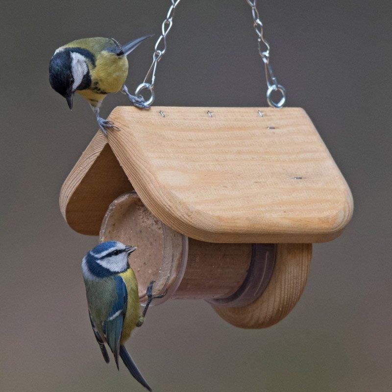 Buy Flutter Butter Treehouse bird feeder at Bumbles