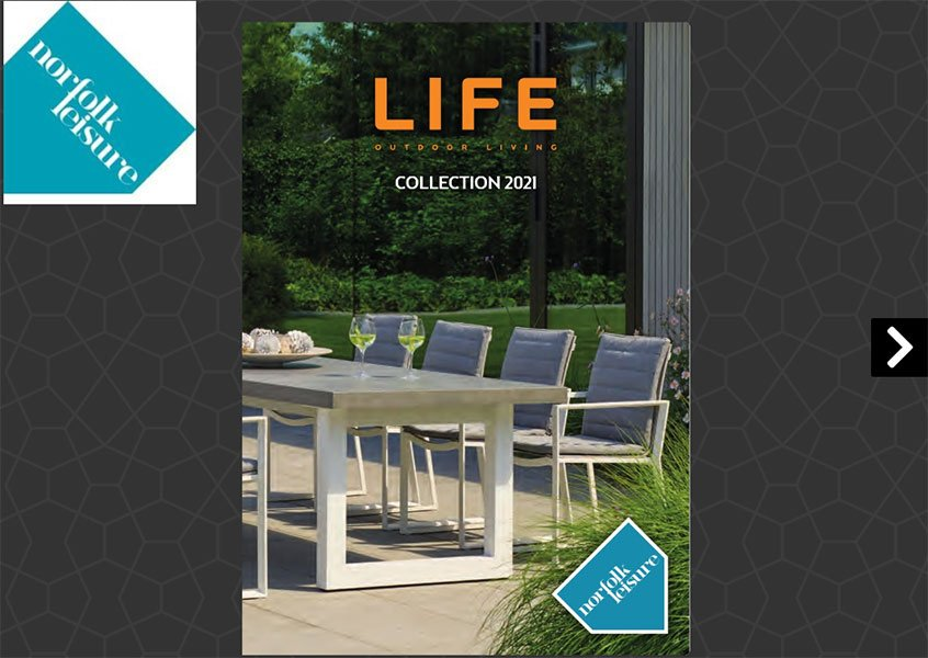 Norfolk Leisure LIFE Outdoor Living Collection 2021 catalogue