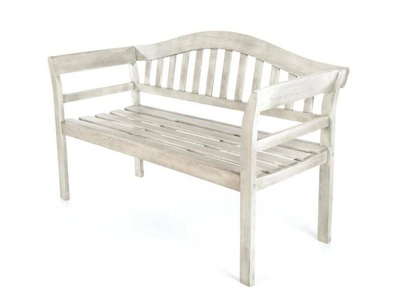Woodlodge Queen garden bench available at Bumbles, April 2021
